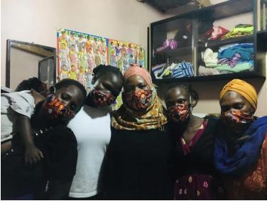 Kampala face masks
